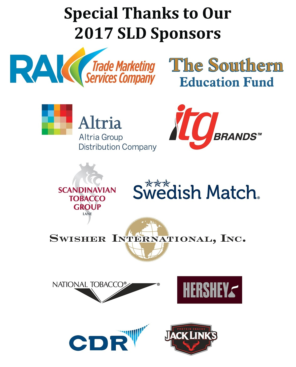 The Southern Sponsors